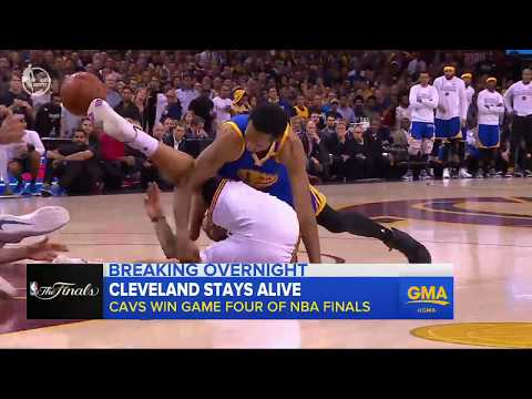 Warriors defeated by Cavs in game 4 of NBA Finals