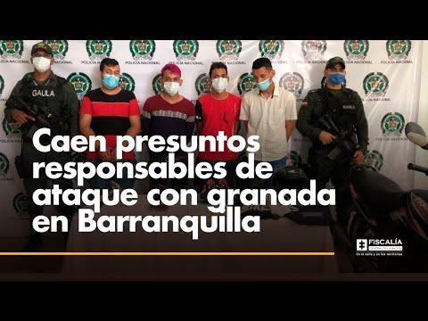Fiscal Francisco Barbosa: Caen presuntos responsables de ataque con granada en Barranquilla