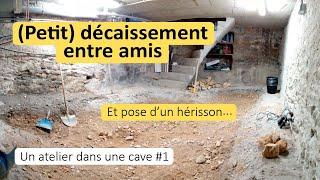 Aménagement Dun Atelier Dans Une Cave #1