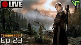 SKYRIM - Legolas Role Play! (PC - Mods - PTBR) Temporada 1 - Ep.23