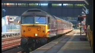 preview picture of video 'Trains at Kensington Olympia Summer 1994 a film by Fred Ivey'