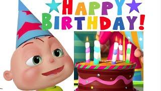 Verjaardagskaarten, Een mooie 3D animatie van een verjaardsfeest voor de jarige