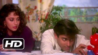 Kal Mujhe Kyun Roka - Superhit Romantic Scene - Hum Aapke Hain Koun