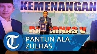 Pantun Ketua Umum PAN Zulkifli Hasan di Rakernas V PAN