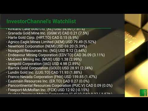 InvestorChannel's Gold Watchlist Update for Friday, July 3 ... Thumbnail