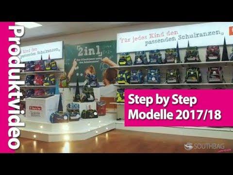 Step by Step Schulranzen Modelle 2017/18 im direkten Vergleich