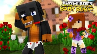 DID BABY MAX CHEAT ON BABY ANGEL w/BABY RUBY -  Minecraft - Little Baby Max