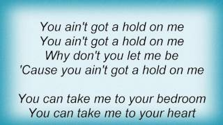 Ac Dc - You Ain't Got A Hold On Me Lyrics