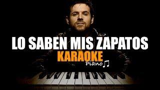 Pablo López - Lo Saben Mis Zapatos 👟👠 Piano Karaoke + Partitura 🎶
