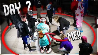 What It's Like INSIDE The MrBeast $100K YouTuber Standing Circle Challenge!