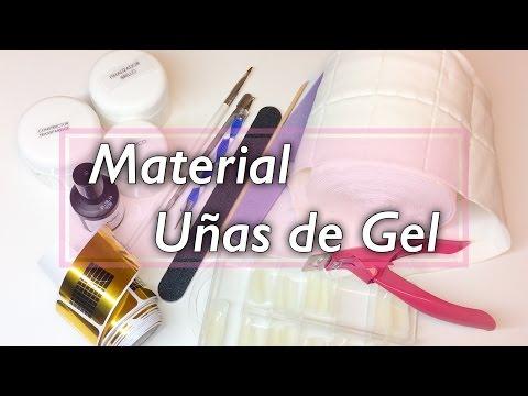 Uñas de Gel | Material necesario