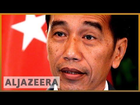 Indonesia's President Joko Widodo sworn in for final term