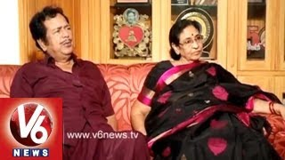 Actor Giri Babu And His Wife Sridevi in Lifemates || V6 News