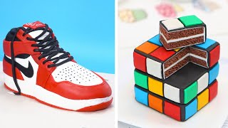 Amazing Fondant Cake Recipes | How To Make Air Jordan Sneaker Cake Decorating | So Yummy Cake