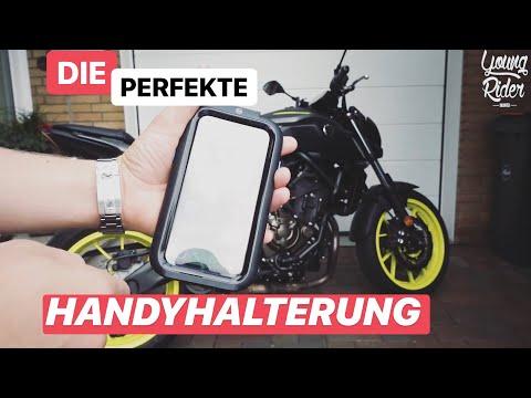 Die perfekte Handyhalterung - Motorrad 🏍 😍