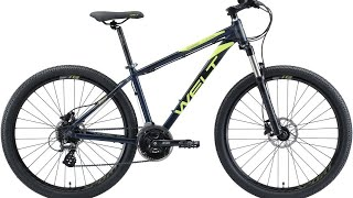 сборка велосипеда Welt Ridge 1.0 HD из коробки