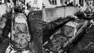 Mystery Of The Buried Ferrari Dino Solved -- JALOPNIK ON /DRIVE