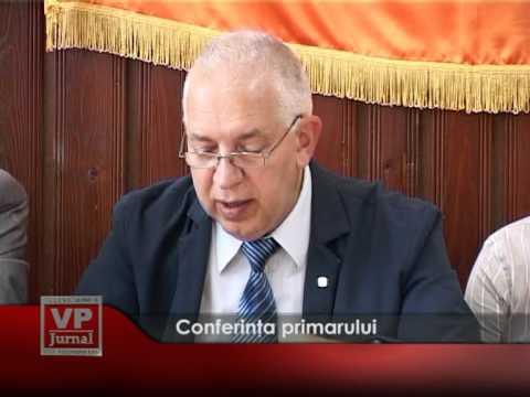 Conferinţa primarului