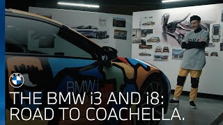 The BMW i3 and BMW i8   On the road to Coachella with John Gourley from Portugal. The Man