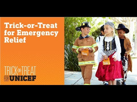 Trick or Treat for Unicef- Circle k- UWL | Created by Hannah