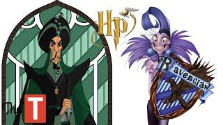 Disney Villains Sorted Into Their Hogwarts Houses