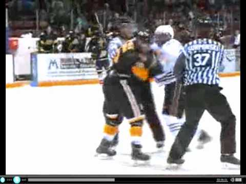 Scott Glennie vs. Mathew Dumba