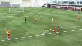 UEFA A License: Attacking from wide areas