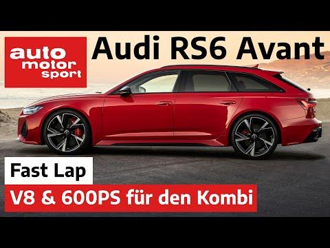 Audi RS6 Avant (C8): V8, 600 PS, noch irgendwelche Fragen? - Fast Lap | auto motor und sport