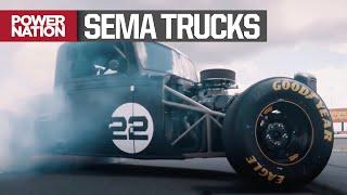SEMA Trucks 2019: Joey Logano's 850 Horsepower NASCAR/Street Rod Fusion Truck