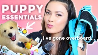 My Puppy Essentials Haul | Must-Haves Recommendations For New Dog Owners!