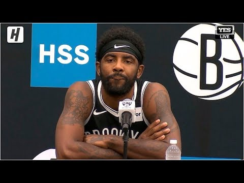 Kyrie Irving Full Press Conference Interview | 2019 NBA Media Day | Brooklyn Nets