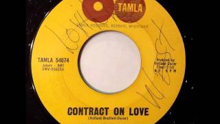 LITTLE STEVIE WONDER - Contract on love - TAMLA