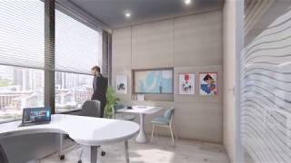 interior office presentation | Lumion 8 animation 4k