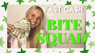 BITESQUAD: how to make money + 6 steps to success + making the most money + tips and tricks