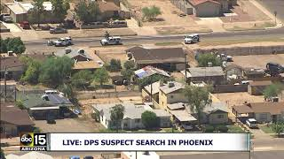 SUSPECT FLEES FROM POLICE ON FOOT! Watch Search After Traffic Stop In Phoenix, Arizona