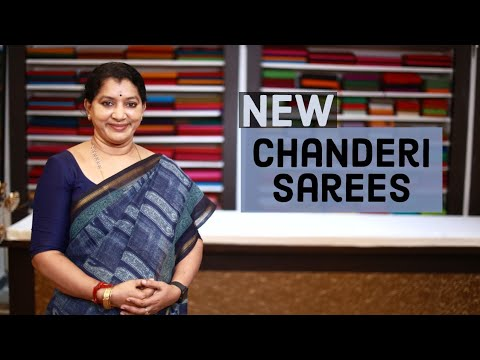 """<p style=""""color: red"""">Video : </p>NEW CHANDERI SAREES COLLECTIONS 