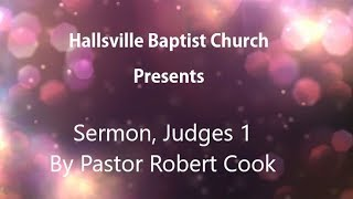 Sermon, Judges 1