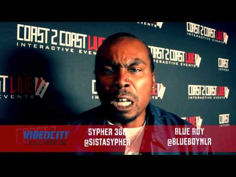 Blue Boy interviews with Sypher 360 for Video City TV at Coast 2 Coast LIVE Atlanta