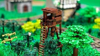 Hochsitz - Bau einer Lego Stadt Teil 212.