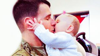 Excited Babies Reactions When Daddy Comes Home - Funny Baby And Daddy