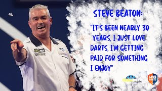 "Steve Beaton: ""It's been nearly 30 years, I just love darts, I'm getting paid for something I enjoy"""