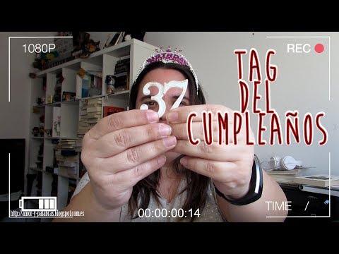 Booktag De Cumpleaños