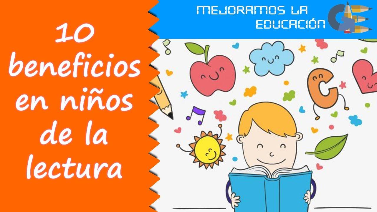 10 beneficios de la lectura para niños y adolescentes