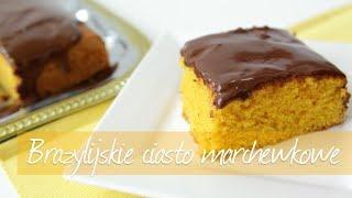 Brazylijskie ciasto marchewkowe - Allrecipes.pl