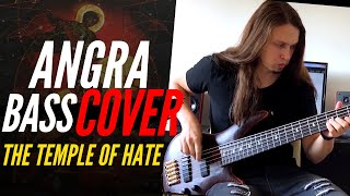 ANGRA - THE TEMPLE OF HATE -  BASS COVER BY RAPHAEL DAFRAS