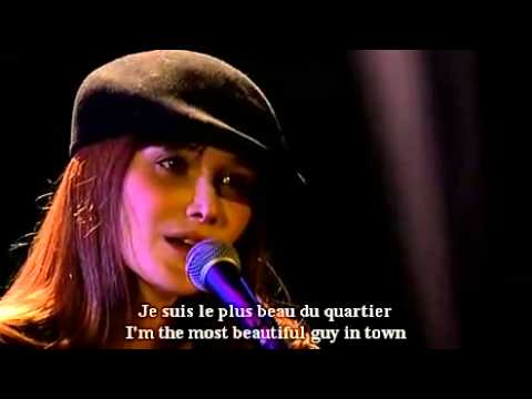 Carla Bruni   Le plus beau du quartier   French and English subtitles