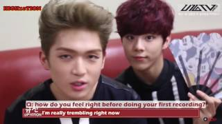 [ENGSUB] UP10TION U10TV Ep.1 - Tension UP! UP10TION