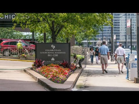 Tour model apartments steps from Michigan Avenue at Columbus Plaza