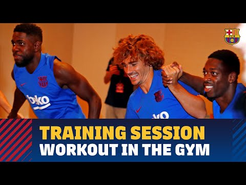 FIRST TEAM'S FUN GYM SESSION IN TOKYO