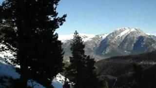 preview picture of video 'Ski Touring in Cap del Verd (Catalonia)'